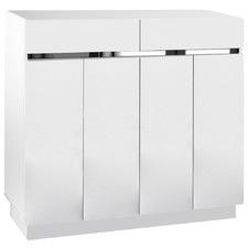 White Lucas Shoe Cabinet