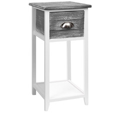 Valerie Wooden Bedside Table
