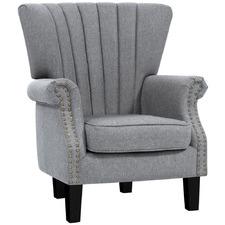 Grey Harper Armchair