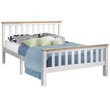 Shiloh Wooden Double Bed Frame