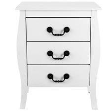 Bianca 3 Drawer Beside Table