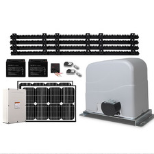 Lockmaster Auto Solar Powered Sliding Gate Opener