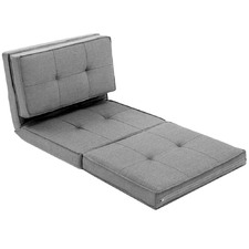 Grey Camila Convertible Floor Lounge