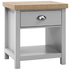 Grey Brisa Bedside Table