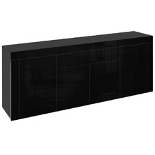 Black Calista High Gloss Buffet