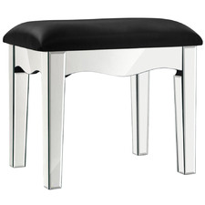 Parisa Faux Leather Dressing Stool