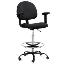 Ethan Adjustable Drafting Chair with Armrests