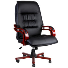 Vosgi Faux Leather Executive Office Chair
