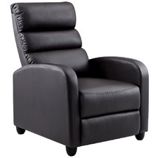 Oswald Faux Leather Recliner Chair