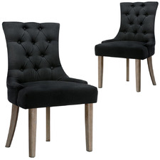 Lucien Fabric Dining Chairs (Set of 2)