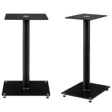 Black Gabino Aluminium Speaker Stands (Set of 2)
