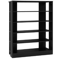 Black Ravil 6 Tier Shoe Cabinet