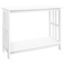 White Bethan Console Table