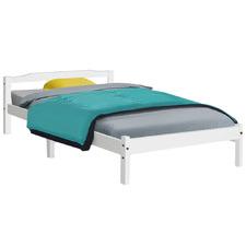 White Weston Pine Wood Single Bed