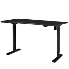 Black Ruso Electric Adjustable Standing Desk