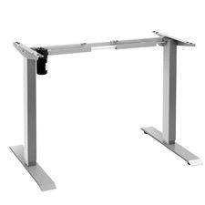 Grey Fazzio Adjustable Standing Desk Frame