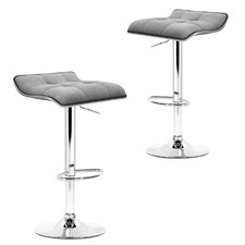 Grey Corio Adjustable Barstools (Set of 2)