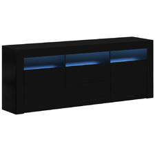 Luciano High Gloss LED Entertainment Unit