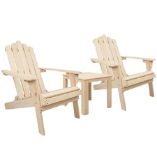 2 Seater Foldable Outdoor Patio Chair & Table Set