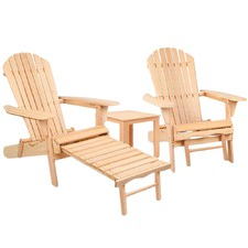 2 Seater Outdoor Patio Chair & Table Set