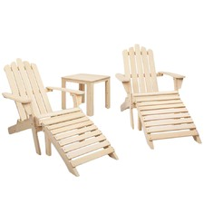 2 Seater Outdoor Patio Lounge Chair & Table Set