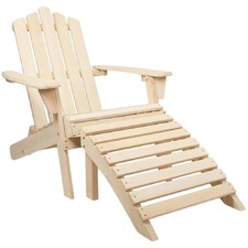 Outdoor Fir Wood Patio Chair
