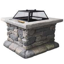 Outdoor Drew Fire Pit & Table