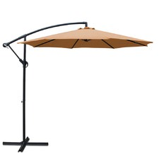 Sun Hut Cantilevered Outdoor Umbrella