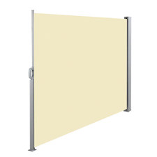 Beige Instahut Retractable Side Awning Shade