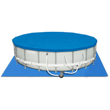 Round Power Steel Above Ground Swimming Pool