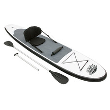 White 2 in 1 Inflatable Stand Up Paddle Board