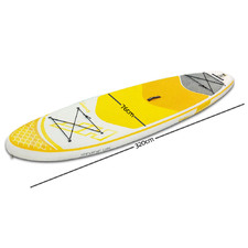 Yellow Inflatable Standing Up Board