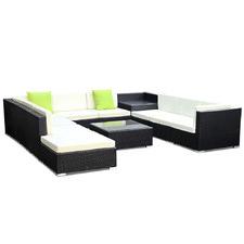 8 Seater Girgio PE Wicker Outdoor Sofa & Table Set