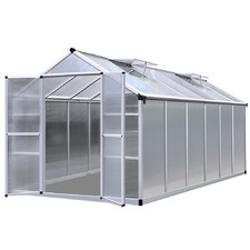 Green Fingers Polycarbonate Greenhouse