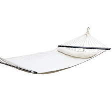 Cream Gideon Double Hammock Swing Bed