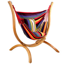 Gideon Hammock with Wooden Stand