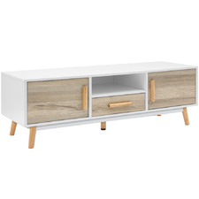 120cm Becca Wooden Entertainment Unit