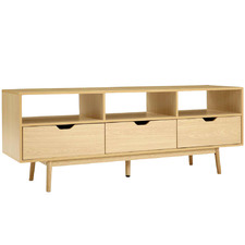 Scandi-Style Emer Wooden Entertainment Unit
