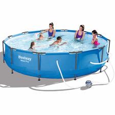 76cm Round Steel Pro Frame Pool
