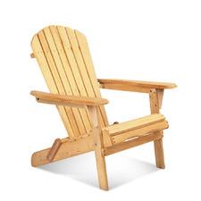 Natural Hudson Foldable Garden Chair