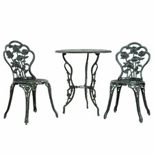 2 Seater Olivier Metal Outdoor Bistro Set