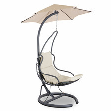 Sophie Outdoor Hanging Chair with Canopy