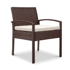 Marvel PE Wicker Outdoor Dining Chair