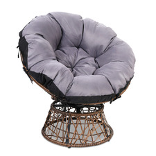 Henri PE Wicker Outdoor Papasan Chair