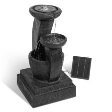 3 Tier Cascading Solar Powered Water Fountain