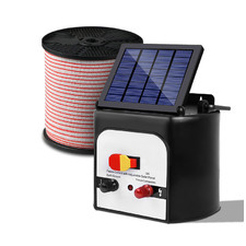 Built Solar Fence Energiser with Charger