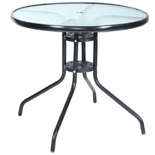 Jardin Glass Outdoor Dining Table