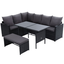 7 Seater Reva Outdoor Dining Set