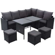 8 Seater Reva Outdoor Dining Set
