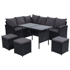 8 Seater Hansley Outdoor Dining Set
